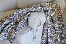 Jacky's Grey Canvas Slipcover