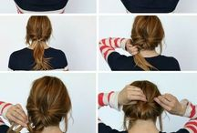 Lazy hairstyles