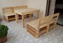 Shipping Pallet Furniture / shipping pallet furniture ideas