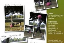 Home & Outdoor Workouts / Smart workouts that I created or think are awesome!