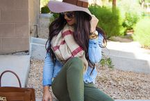 Colored pants/tights