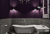 Salles de bains gris