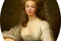 fryzury koniec XVIII w.