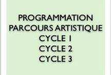 programmation parcours artistique tous les cycles