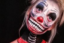 Halloween make Up / Crazy Make Up