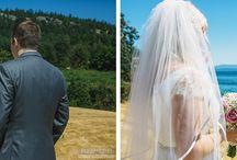 // First Look Wedding Photos //