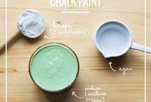 receta pintura. chalpeig