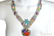 micro macrame necklace / by handmadefuzzy