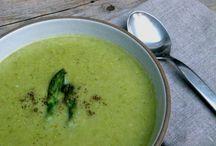 Big bowl of soup