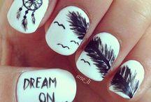 atrapasueños uñas