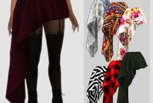 Sims 4 CC- Pants and skirts