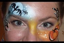 face painting Lisa Joy Young