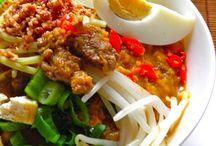 Indenesia food and Asie