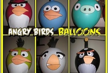 Angry Bird Party Ideas / by Claudia George