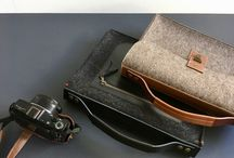 BAGS * felt and leather bags handmade in Holland