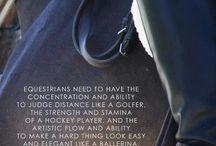 equestrian / by Sue Kennon