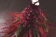 Rochii din flori
