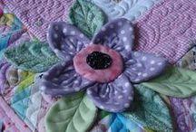 padded flowers