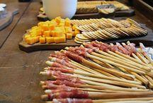 dekoracja jedzenia na stół