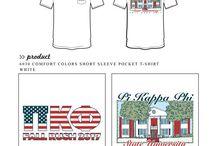 Pi Kappa Phi / Pi Kappa Phi custom shirt designs #pikappaphi #pikapp #pkp #pkf  For more information on screen printing or to get a proof for your next shirt order, visit www.jcgapparel.com