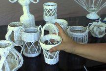 pletení z papíru videa