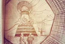 Nick Gibney's Sketchbook / Drawings from Nick Gibney's sketchbook. That's me!