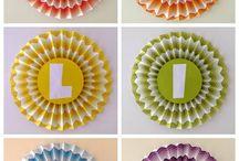 Cumpleaños/Birthdays / Candy Bar, Souvenirs, Banderines