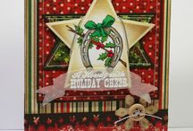 """Stamp:Cowboy Christmas / Handmade cards featuring stamps from the """"Cowboy Christmas"""" stamp set by Flourishes.l.c"""