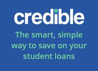 John Edward / Save money by refinancing your student loans with Credible.  Compare and save today.