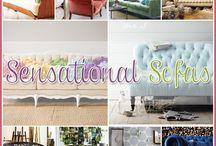 Sensational Sofas / by Andrea Cammarata
