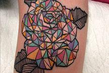 tattoo ideas/geometricform/achitecture/beauty