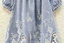 Kız Çocuk Gömlek- Elbise