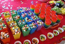 Rainbow Themed Party