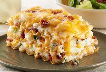 Potato lasagna / Easy way to eat potatos