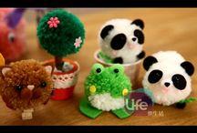 hračky z brmbolcov - video