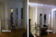 Before-After / Avant-Après / Before-After pictures with and without an Espaciel light reflector. // Photos Avant-Après avec et sans réflecteur de lumière Espaciel.
