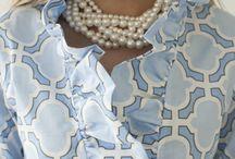 горловины платья
