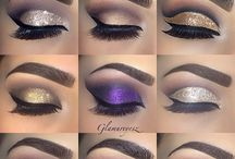 Ojos glitter's