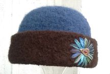 CCM Felt Hats / My one-of-a-kind knitted, felted & embroidered hats.   https://www.etsy.com/shop/ccmhats