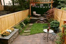 Outdoor rooms and pergola's / Pergola Idea in the backyard  / by Shirley Stippel