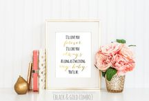 Art Ideas for Nursery / by Stephanie Lynn