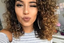 ombre curly