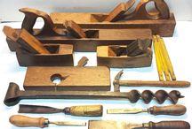 herramientas para carpintería antiguas
