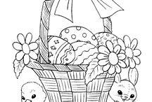Saison - Paques / Easter / Inspirations pour créations de paques