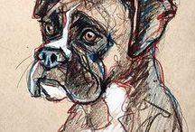 dieren schetsen