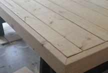 DIY Barn Table