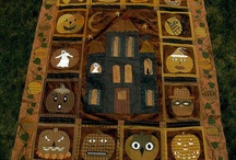 Halloween quilting and sewing / by Joy Rosenberger