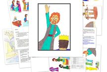 Bible - OT - 9. Isaiah / Activities, games, drama, interactive ideas for teaching the OT book of Isaiah to children.