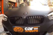 BMW Serie 1 M en Negro Mate Terminator - Car Wrapping by Pronto Rotulo since 1993