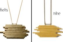 DIY Inspiration: Necklaces from other materials / by Maerri Lou